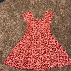 Girls size 7 Flower dress